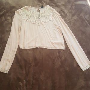 Light pink blouse